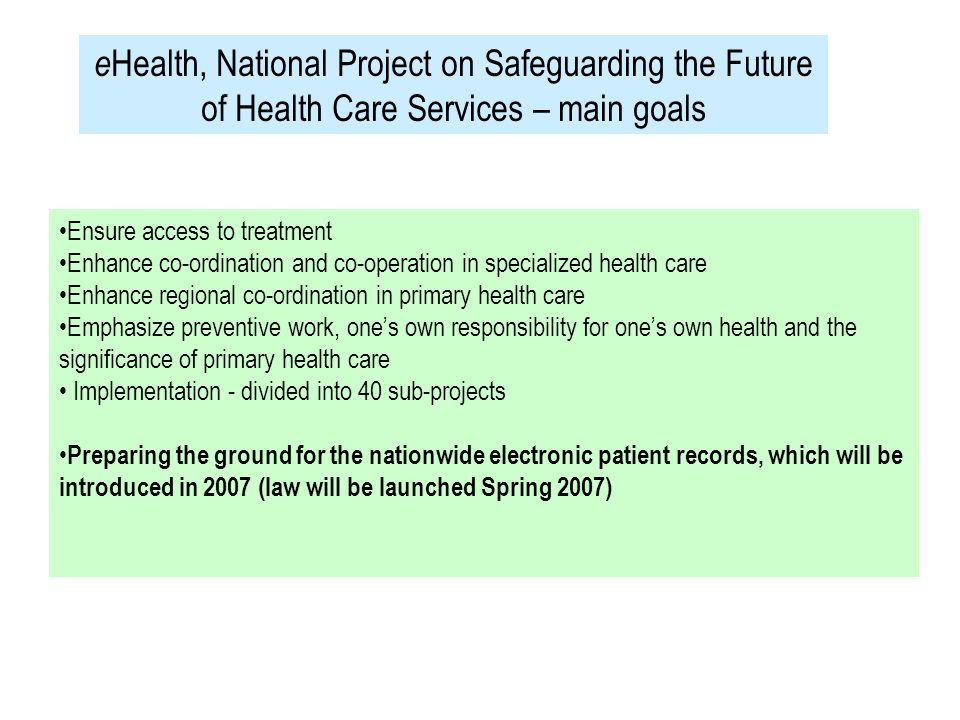 The Project of the Year 2000 Net Clinic is a good example of how project work can be expanded into new application fields like public administration and so called soft values Net Clinic is based on wide and versatile co-operation and on application of new Internet technology Net Clinic proves that it is possible to develop new innovations also outside big so called growing centres Net Clinic proves that women can work successfully in management or other key positions which have conventionally been classified as men´s work ( The evaluation criteria of the The Finnish Project Management Association)