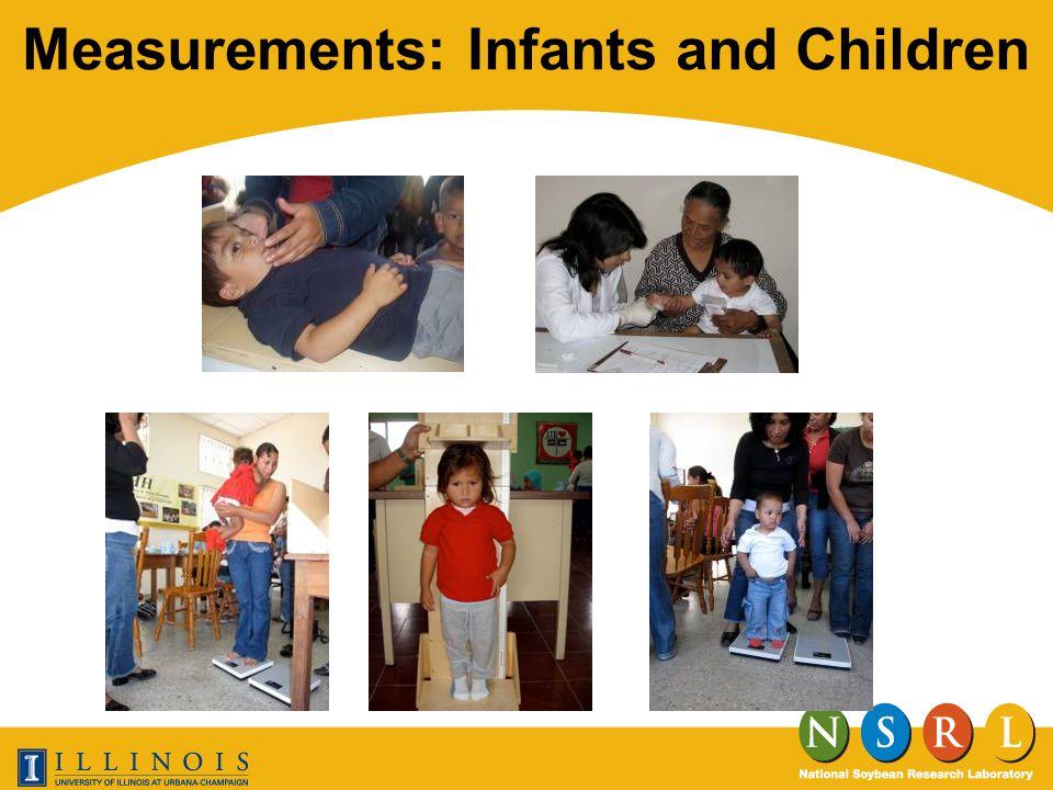 Measurements: Infants and Children