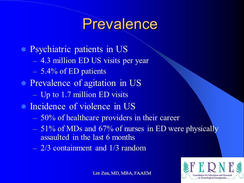 Les Zun, MD, MBA, FAAEM Prevent Violence-Strategies Brasic, JR, Fogel, D:Clinical safety.