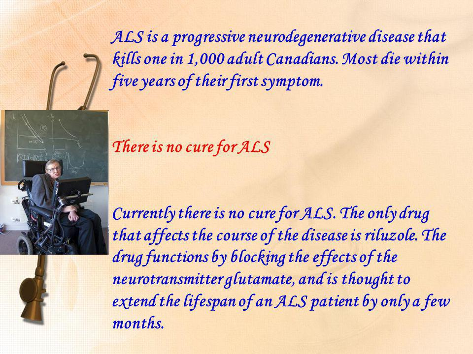 ALS/MOTOR NEURON DISEASE A VERY IMPORTANT DISCOVERY.