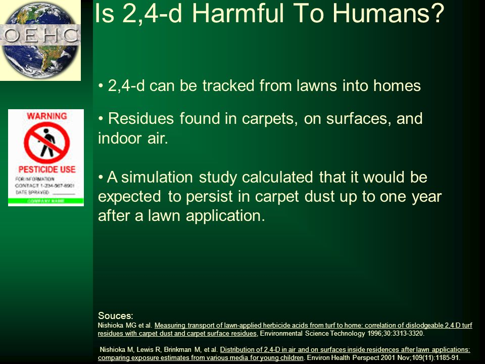 Is 2,4-d Harmful To Humans.