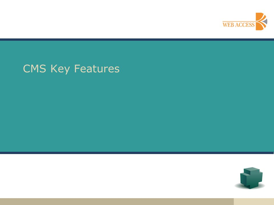 CMS Key Features