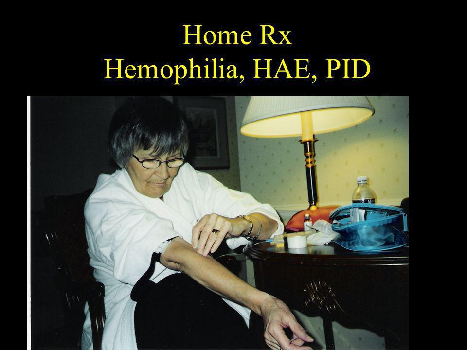 Home Rx Hemophilia, HAE, PID