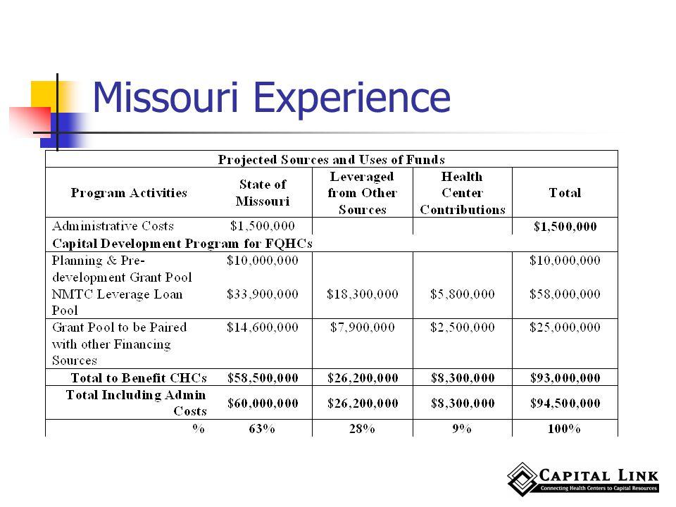 Missouri Experience