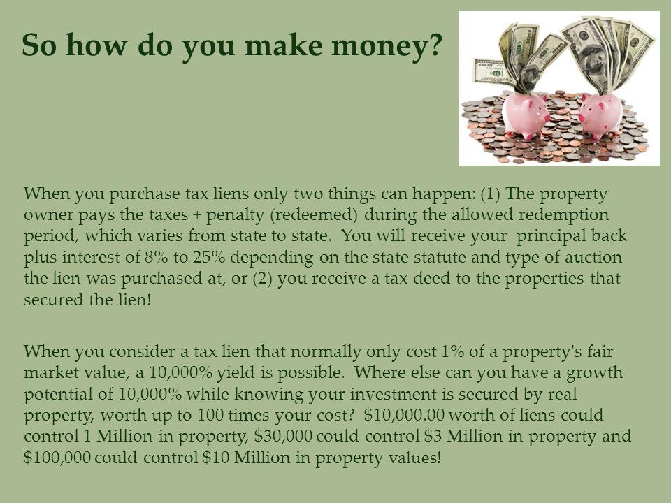 So how do you make money.