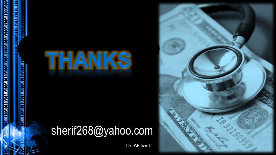 Dr. Alsharif sherif268@yahoo.com