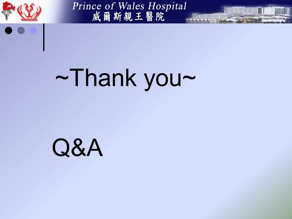 ~Thank you~ Q&A