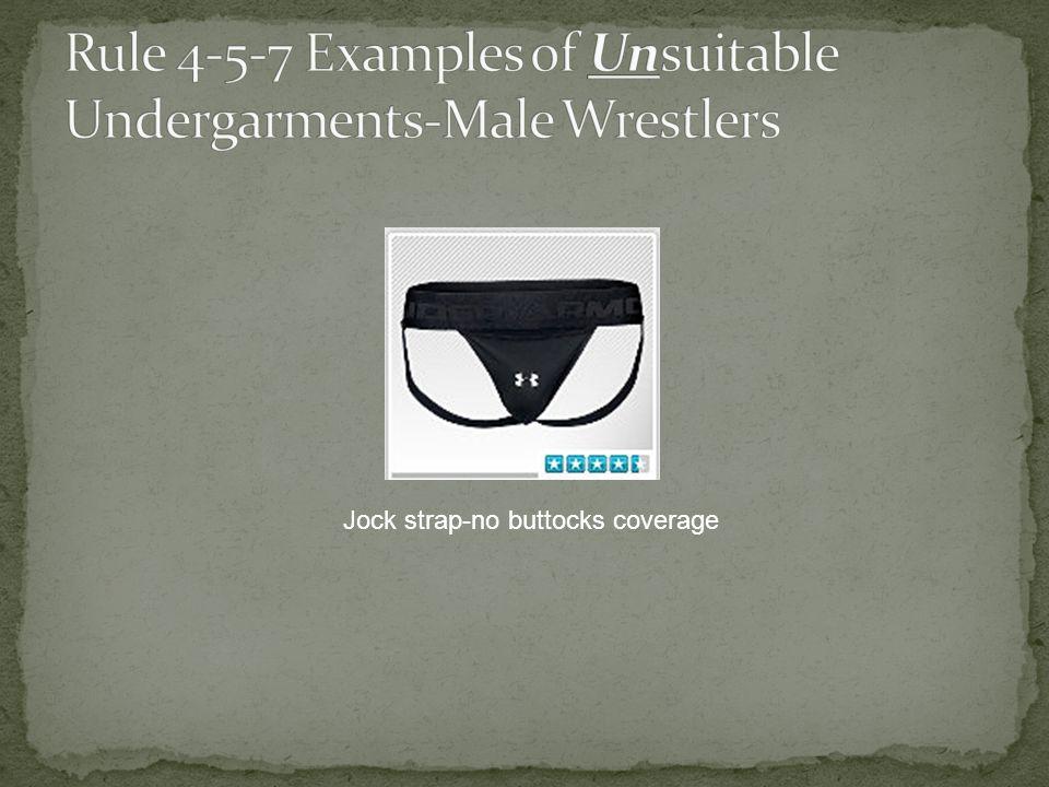 Jock strap-no buttocks coverage