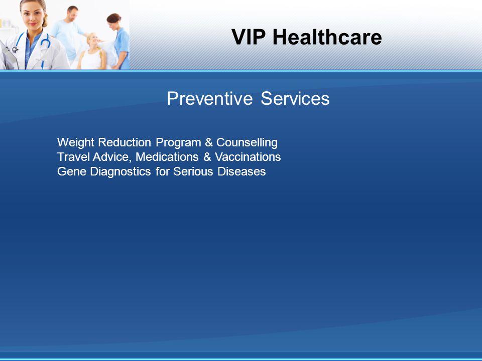 VIP Healthcare Age Distribution