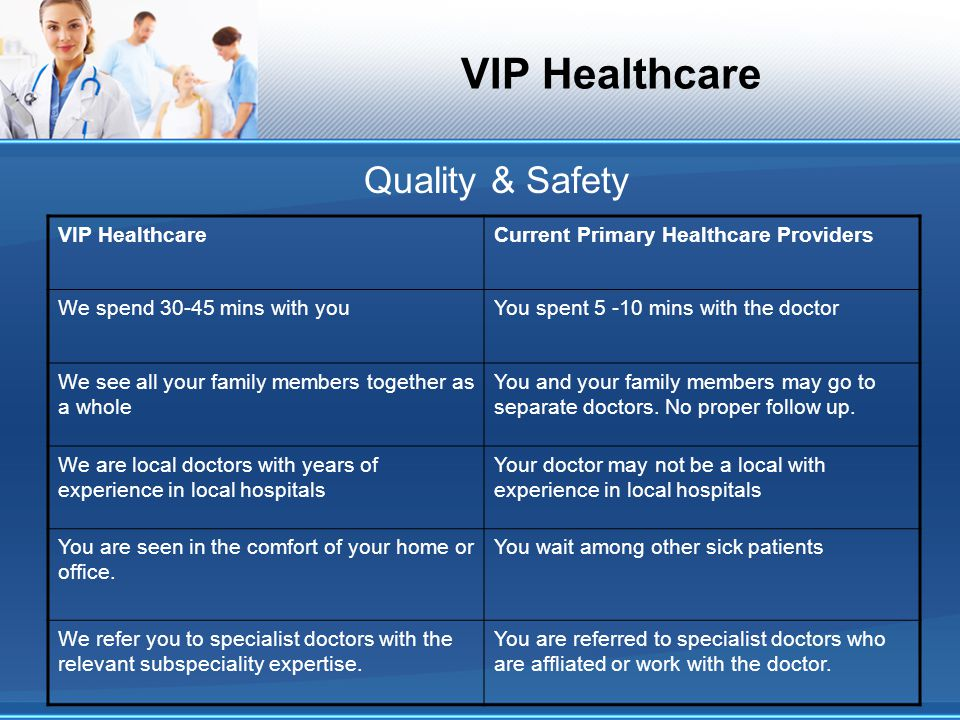 VIP Healthcare What is our experience with multi-racial, multi-national patients?