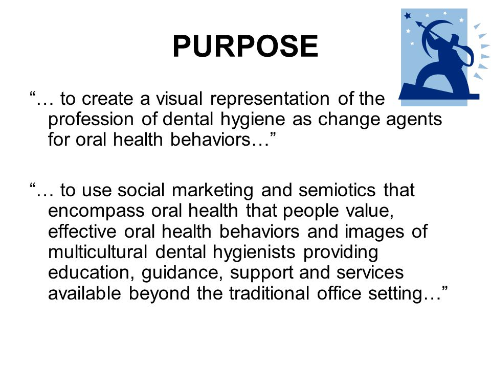 WHAT WILL THIS ACCOMPLISH 1.Dental hygienists able to receive guidance and support 2.Increase in the amount and quality of projects, research and publications 3.Increase idea follow through 4.Increase pursuit of graduate studies 5.Increase visibility of the profession