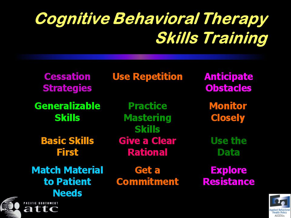 Cognitive Behavioral Therapy Skills Training
