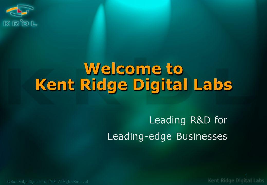 © Kent Ridge Digital Labs, 1998.