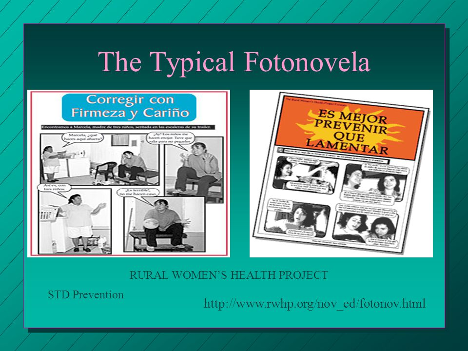 The Typical Fotonovela   RURAL WOMENS HEALTH PROJECT STD Prevention