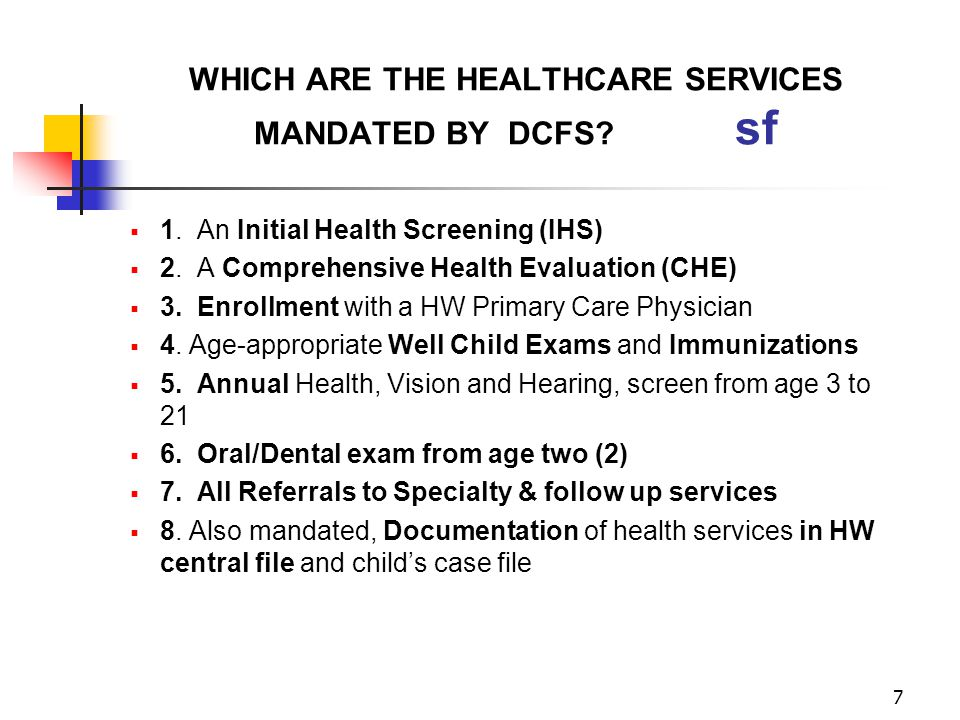 58 HEALTH RECORDS NEEDED FOR ADMINISTRATIVE CASE REVIEWS sf 1.