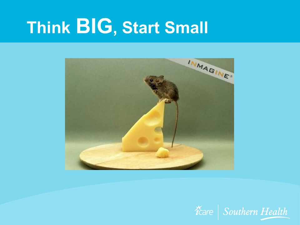 Think BIG, Start Small