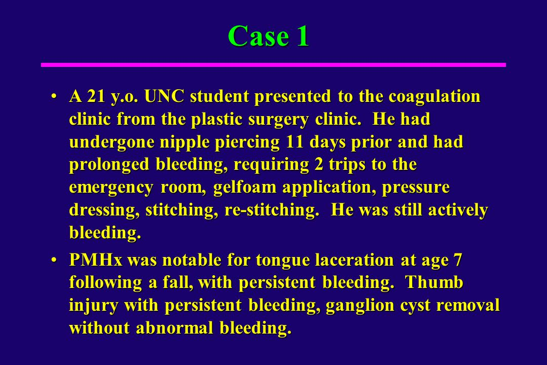 Case 3 - Questions Q1.What blood products should be given to the patient.