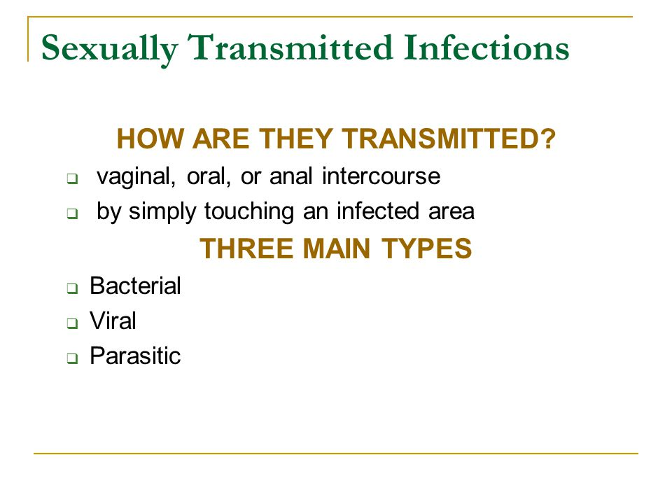 Genital Herpes Approximately 40 million people infected Simplex I and Simplex II Many individuals are asymptomatic If symptoms are present, they will occur 2-20 days after infection