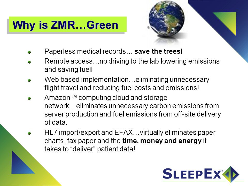 ZMR Database: Power & Flexibility Create your own ZMR Customization tools allow you to create your own database to manage your workflow.