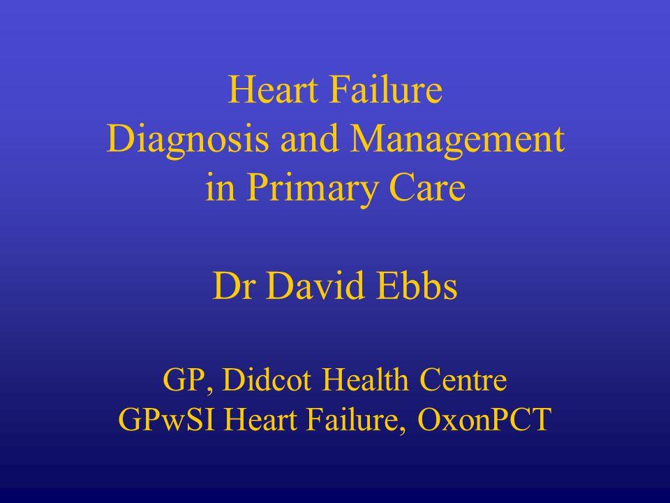What is heart failure.