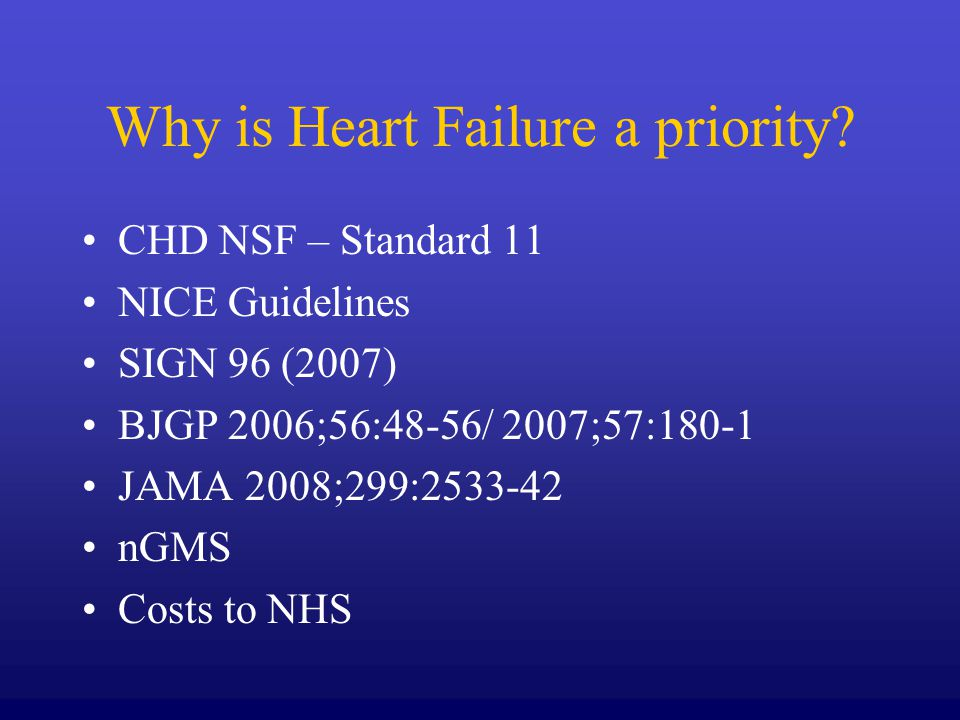 But NOT Acutely unwell Congenital heart disease Valve replacement Those under active cardiology follow up Rarities : amyloid, sarcoid, carcinoid, Marfans …..etc Children