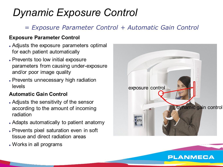 Functional exposure programs Panoramic programs: Standard panoramic program * Child panoramic program * Interproximal program ** Orthogonal program ** Bitewing program ** * incl.