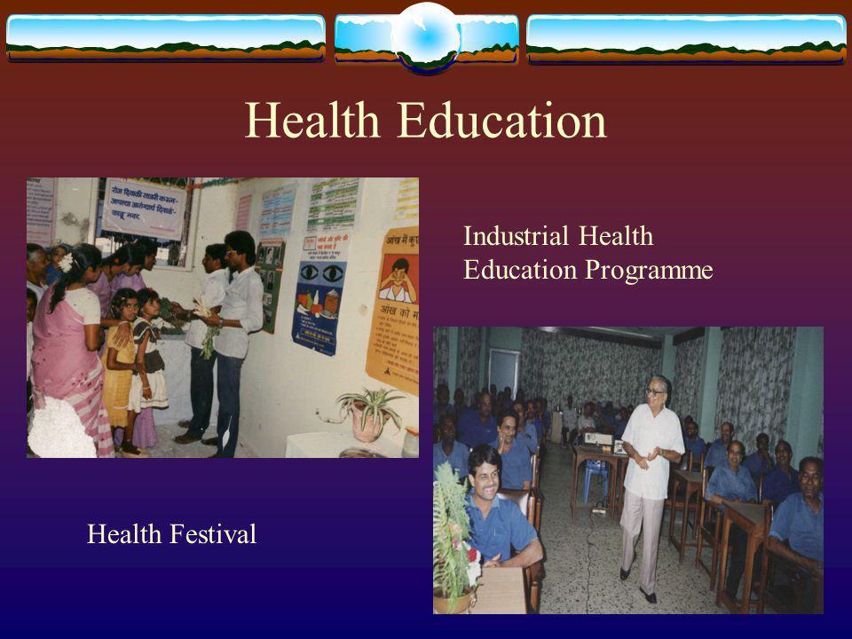 Health Education Health Festival Industrial Health Education Programme