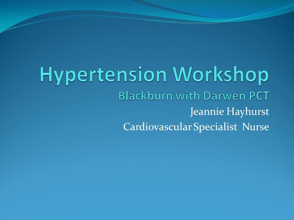 Jeannie Hayhurst Cardiovascular Specialist Nurse
