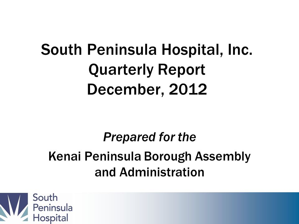 South Peninsula Hospital, Inc.