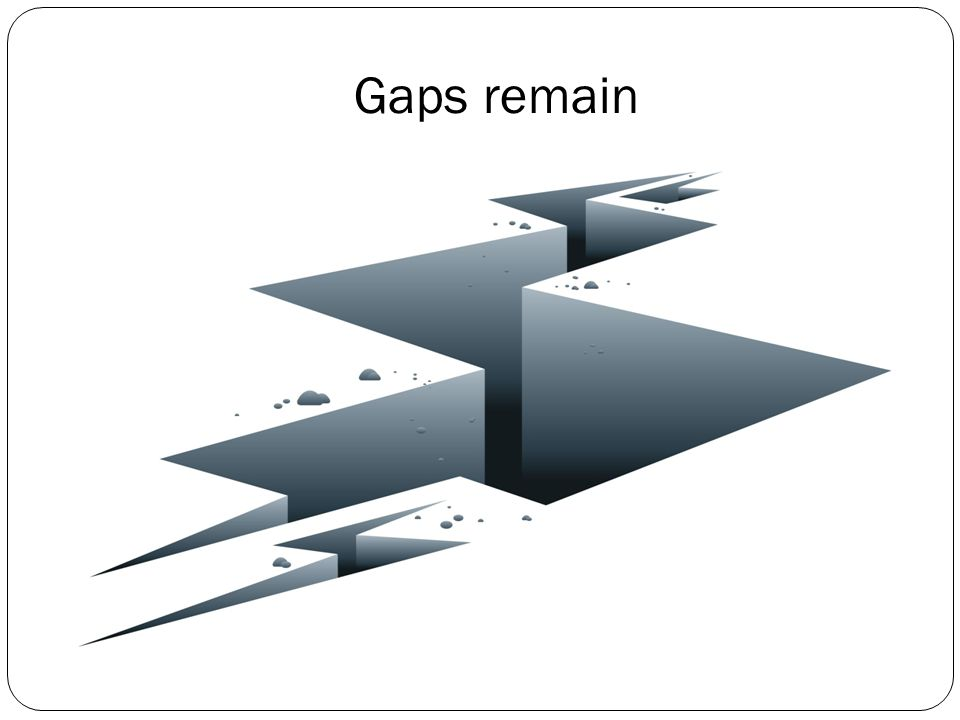 #1: There will be gaps in coverage.