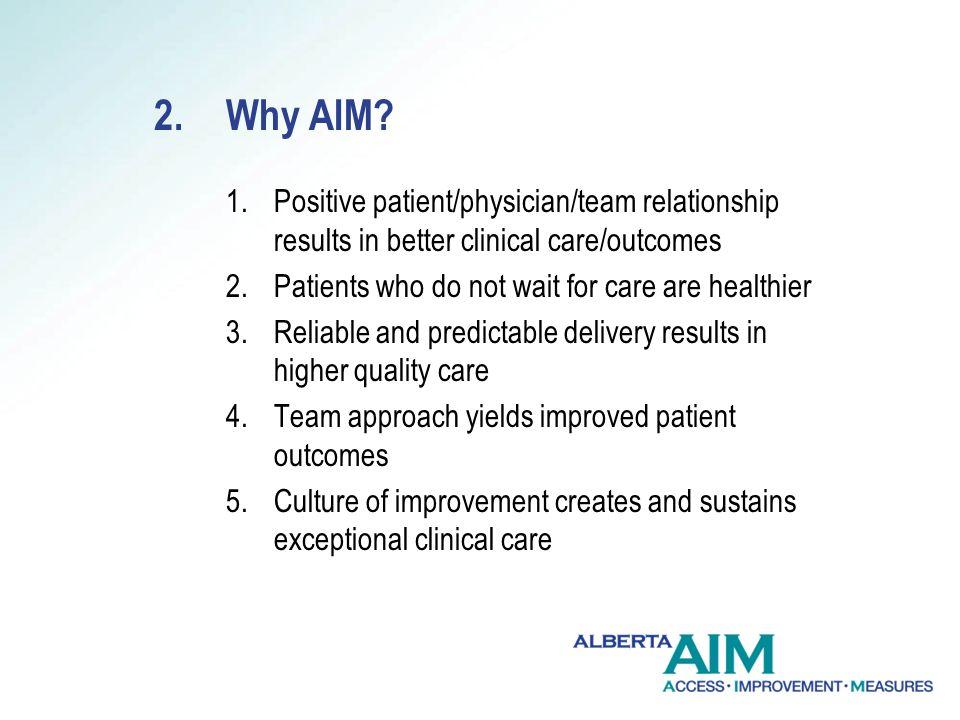 2.Why AIM.