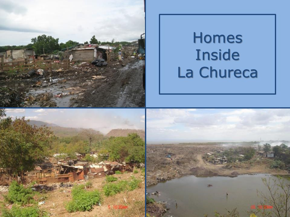Homes Inside La Chureca