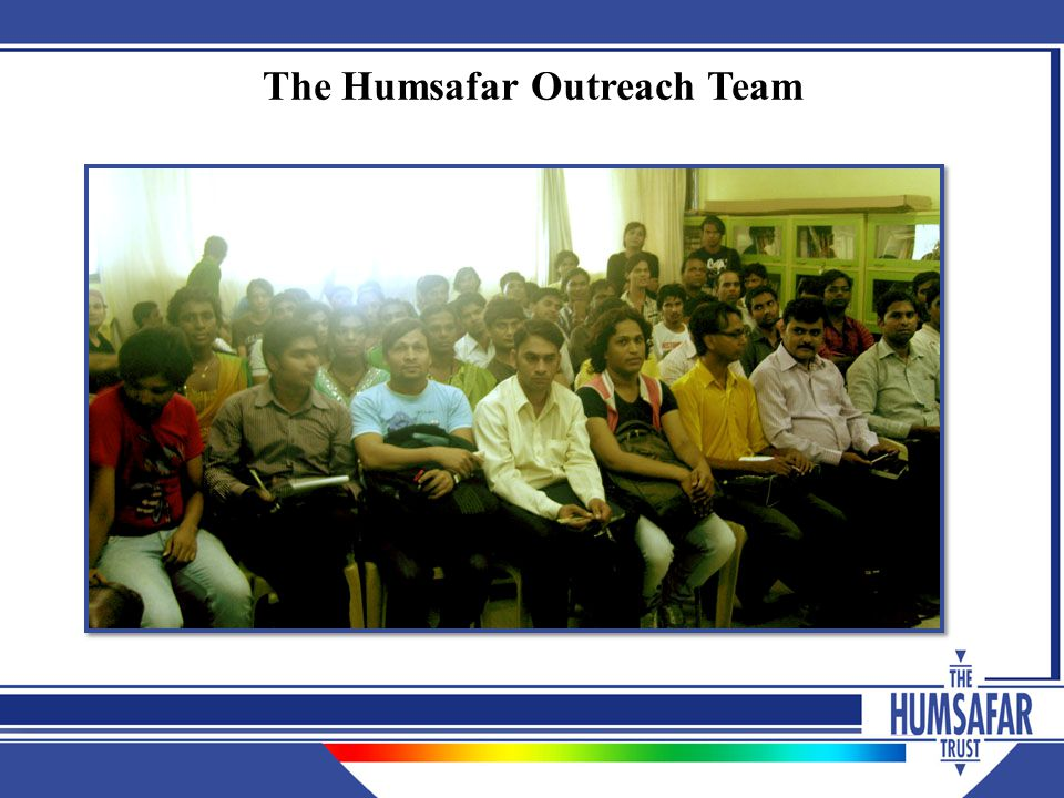The Humsafar Outreach Team