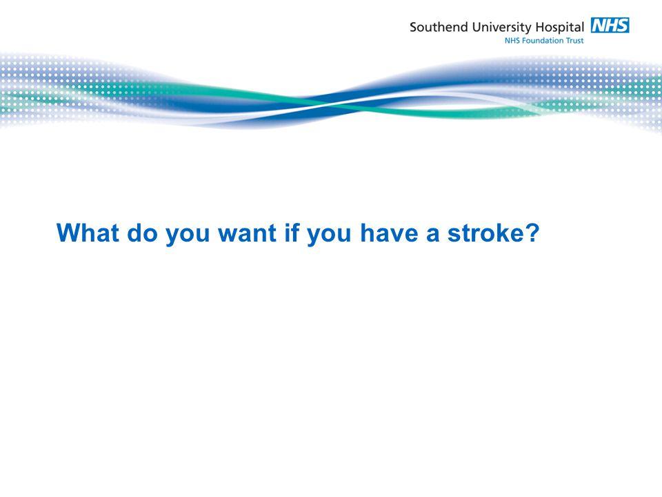 RAPID treatment by stroke Specialists: SAVE MY BRAIN!