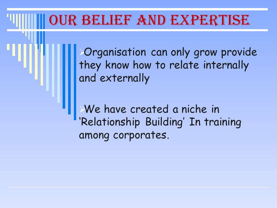 Our Services to Corporate Assessment Training Counseling CSR Projects