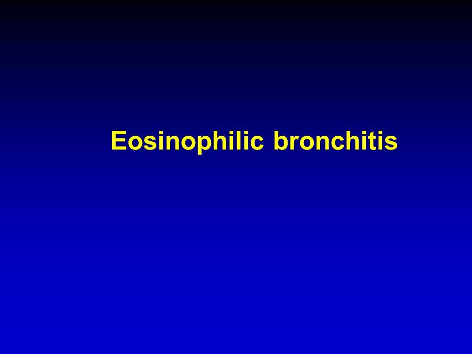Eosinophilic bronchitis