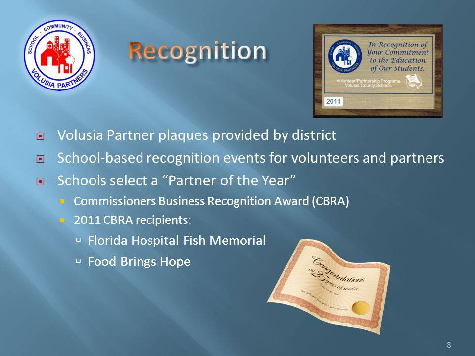 Partners with 23 SW schools Partnership initiated in 1994 Partnership has provided: Hospital tours Job shadowing experiences Volunteer opportunities for students Volunteers to serve on School Advisory Councils Resource speakers Annual clinic supplies donation 9