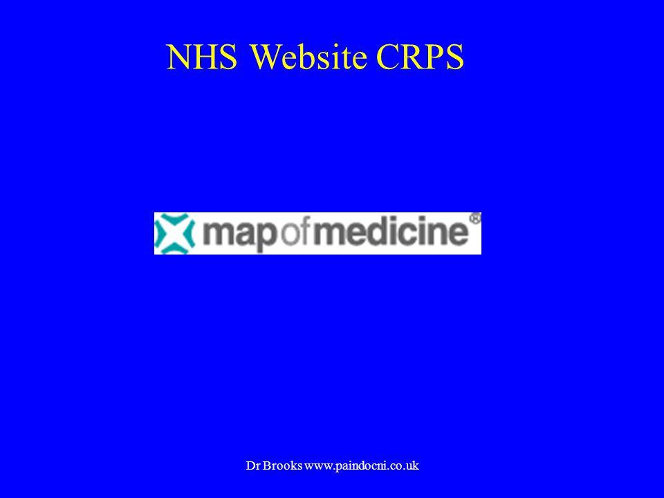 NHS Website CRPS