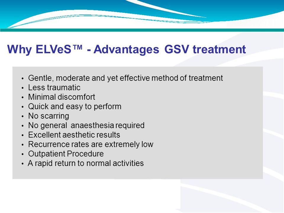 EVLT Less invasive technique: Endovenous Laser Treatment (EVLT). EVLT uses targeted laser energy to seal the vein shut