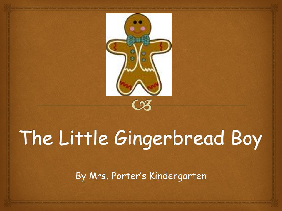 The boys and girls got busy right away, making a poster and pictures to let everyone at Garrison Mill know that the little Gingerbread Boy was still on the loose.