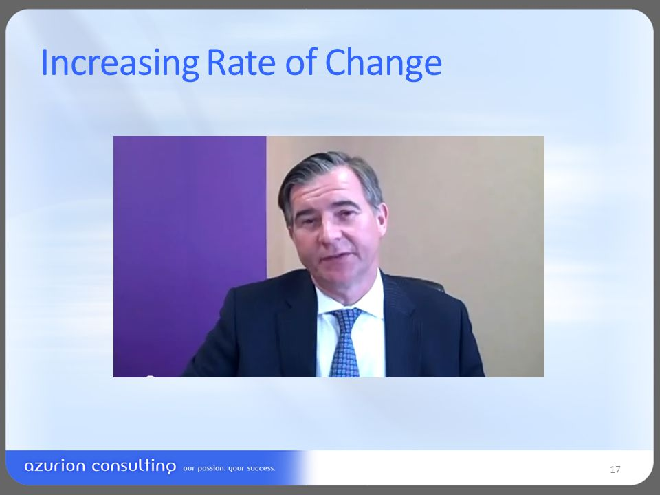 Increasing Rate of Change 17