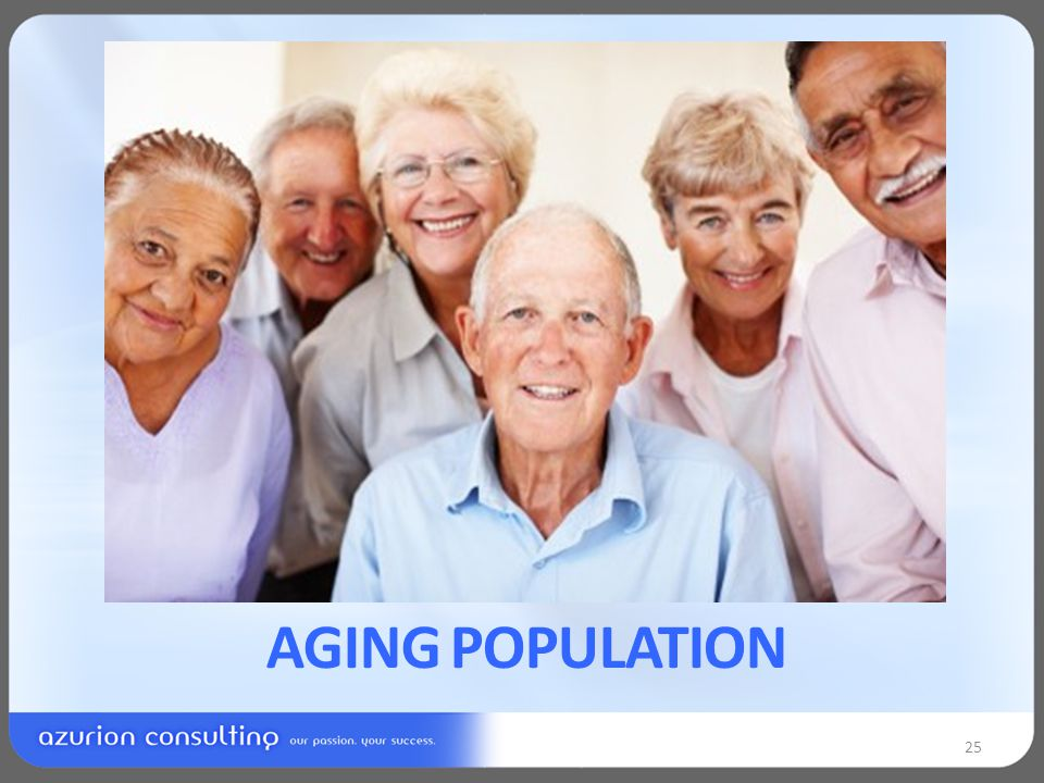 AGING POPULATION 25