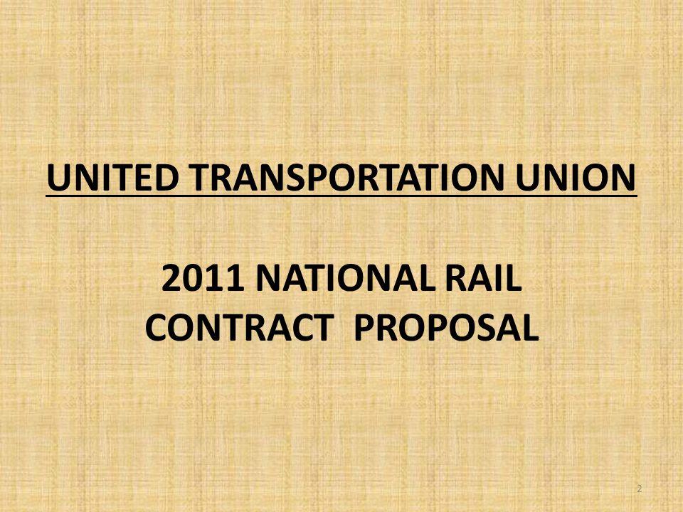 2011 UTU National Agreement 33