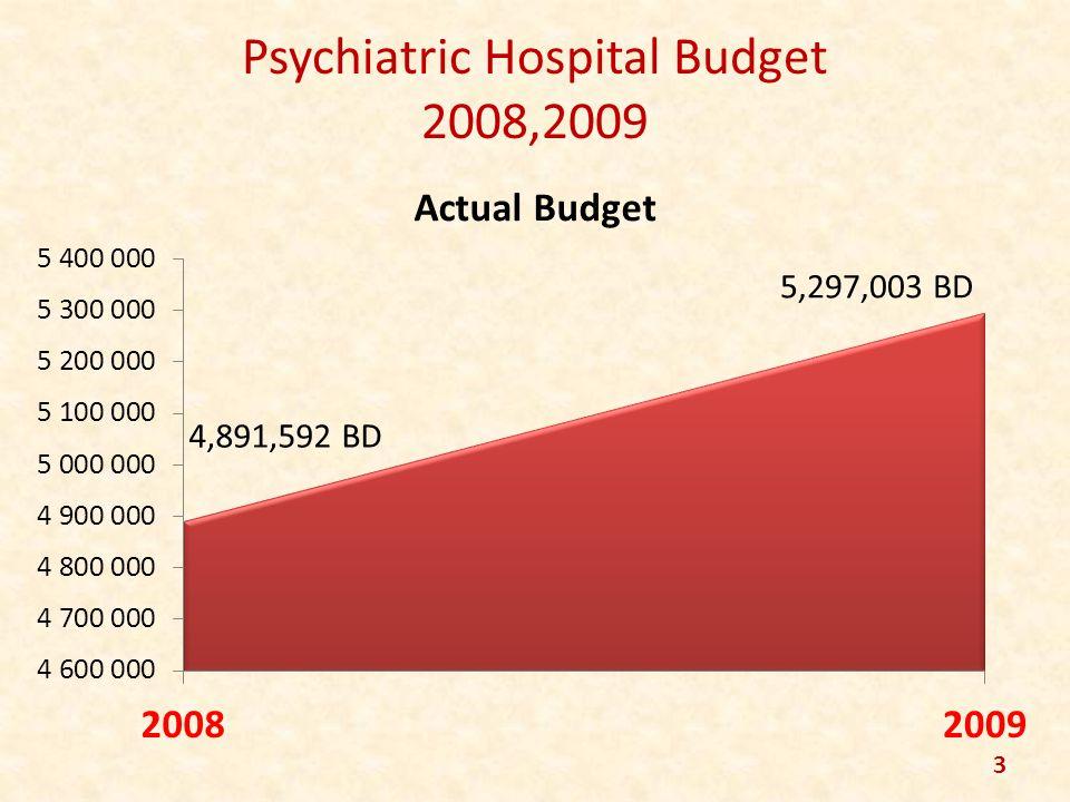 Psychiatric Hospital Budget 2008,2009 3