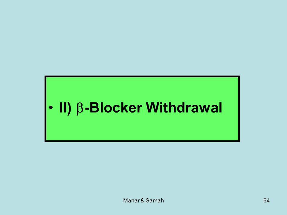 Manar & Samah64 II) -Blocker Withdrawal