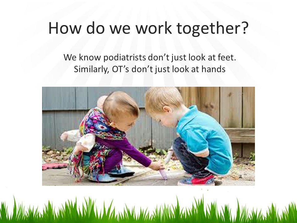 Motor Skills Vestibular- children need good quality efficient movement skills and tactile skills for motor planning DCD/orthotics link
