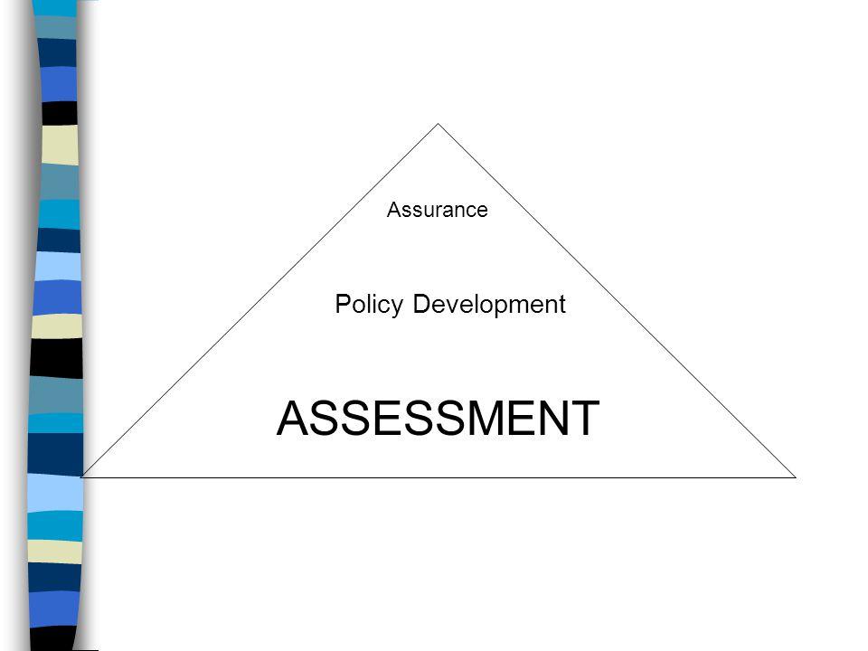 ASSESSMENT Policy Development Assurance