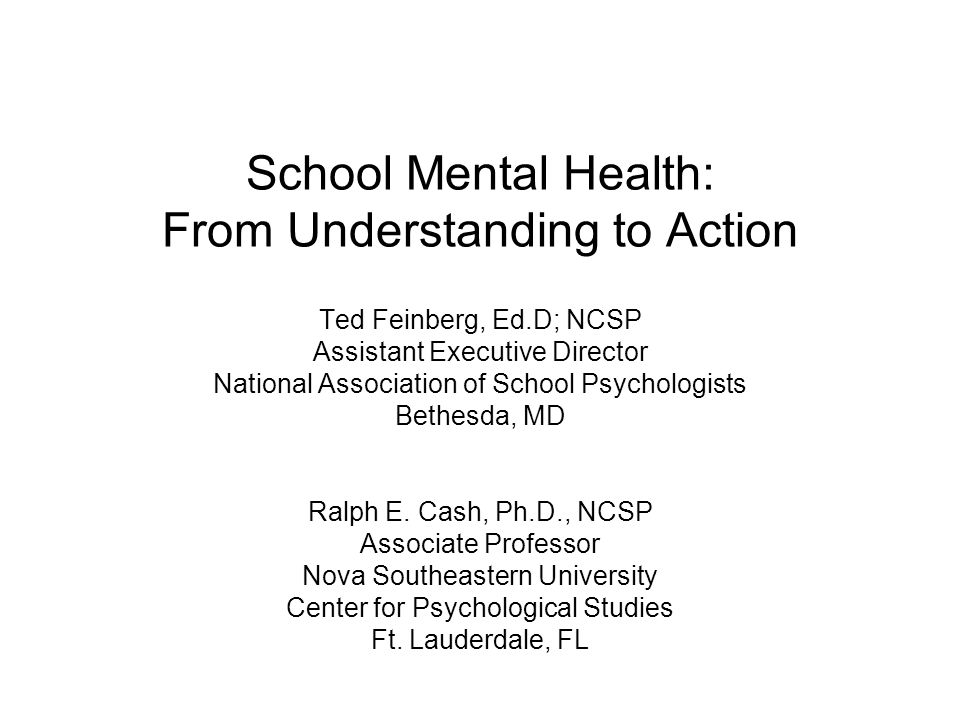 the importance of school programs for mental health care Deliver multiple health care programs governments can not ignore the need integration of mental health care into primary health care will require and increase.