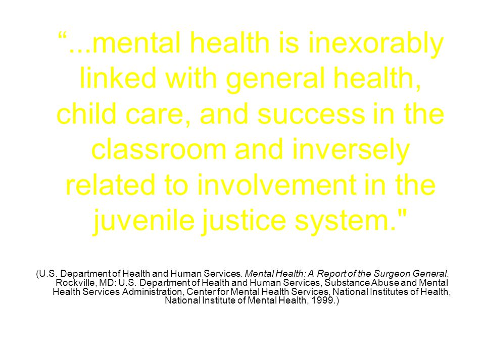 Why is Mental Health in Schools an Imperative.