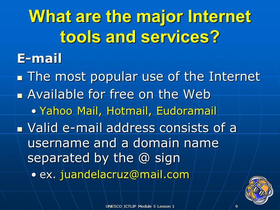 UNESCO ICTLIP Module 5 Lesson 130 How does the Internet work.